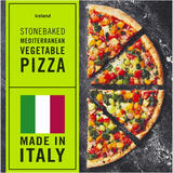 Iceland Stonebaked Mediterranean Vegetable Pizza 408g
