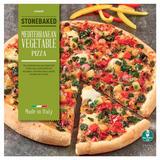 Iceland Stonebaked Mediterranean Vegetable Pizza 408g