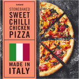 Iceland Stonebaked Sweet Chilli Chicken Pizza 415g