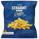 Iceland Straight Cut Chips 1.25Kg