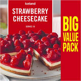 Iceland Strawberry Cheesecake 850g