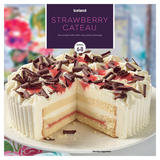 Iceland Strawberry Gateau Serves 6-8 600g