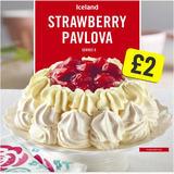 Iceland Strawberry Pavlova 310g