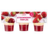 Iceland Strawberry Trifles 3 X 125g
