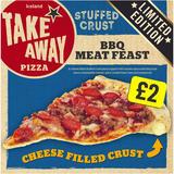 Iceland Stuffed Crust BBQ Meat Feast Pizza 475g