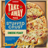 Iceland Stuffed Crust Cheese Feast 453g