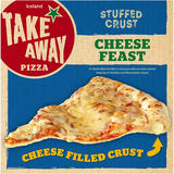 Iceland Stuffed Crust Cheese Feast Pizza 453g
