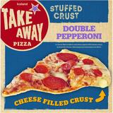 Iceland Stuffed Crust Double Pepperoni Pizza 445g