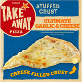Iceland Stuffed Crust Ultimate Garlic & Cheese Pizza 410g