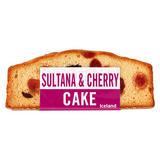 Iceland Sultana & Cherry Cake 258g