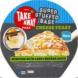 Iceland Super Stuffed Base Cheese Feast Pizza 500g