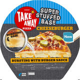 Iceland Super Stuffed Base Cheeseburger Pizza 530g