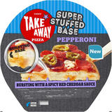 Iceland Super Stuffed Base Pepperoni Pizza 510g