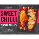 Iceland Sweet Chilli Chicken Breasts 400g