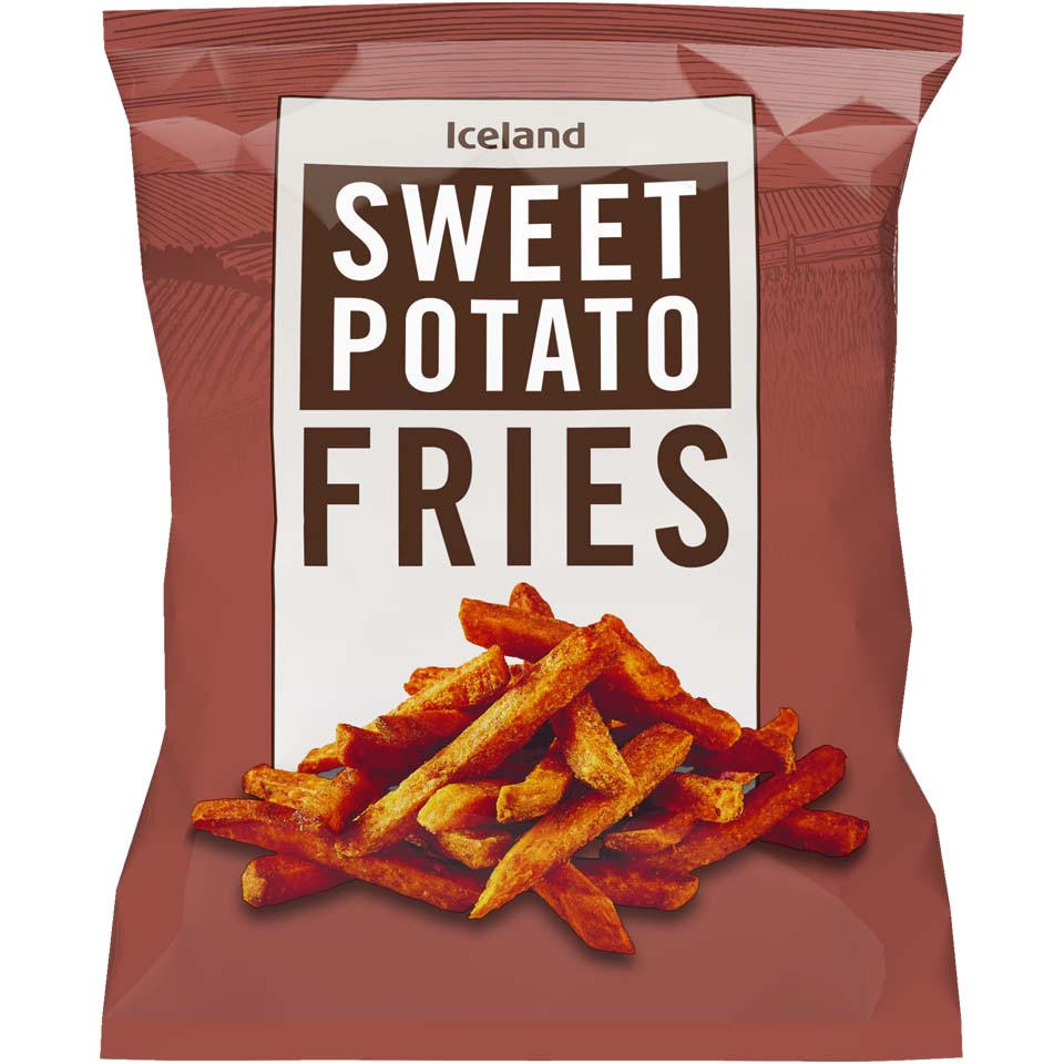 Iceland Sweet Potato Fries 600g Chips Fries Iceland Foods