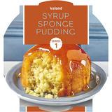 Iceland Syrup Sponge Pudding 115g