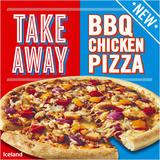 Iceland Takeaway BBQ Chicken Pizza 528g
