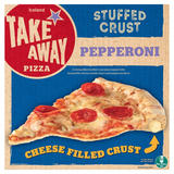 Iceland Takeaway Cheese Stuffed Crust Pepperoni Pizza 429g