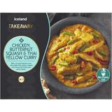Iceland Takeaway Chicken Butternut Squash & Thai Yellow Curry 375g