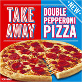 Iceland Takeaway Double Pepperoni Pizza 477g