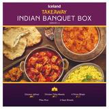 Iceland Takeaway Indian Banquet Box 1.32Kg