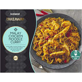 Iceland Takeaway Malay Chicken Noodle Curry 375g