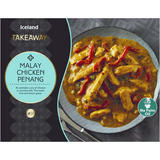 Iceland Takeaway Malay Chicken Penang 375g