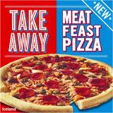 Iceland Takeaway Meat Feast Pizza 511g