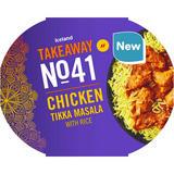 Iceland Takeaway No.41 Chicken Tikka Masala with Pilau Rice 400g