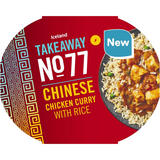 Iceland Takeaway No.77 Chinese Chicken Curry with Rice 400g