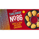 Iceland Takeaway No.86 Sweet and Sour Battered Chicken 228g