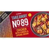 Iceland Takeaway No.89 Chicken with Ginger and Spring Onion 375g
