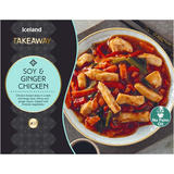 Iceland Takeaway Soy & Ginger Chicken 375g