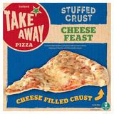 Iceland Takeaway Stuffed Crust Cheese Feast Pizza 453g