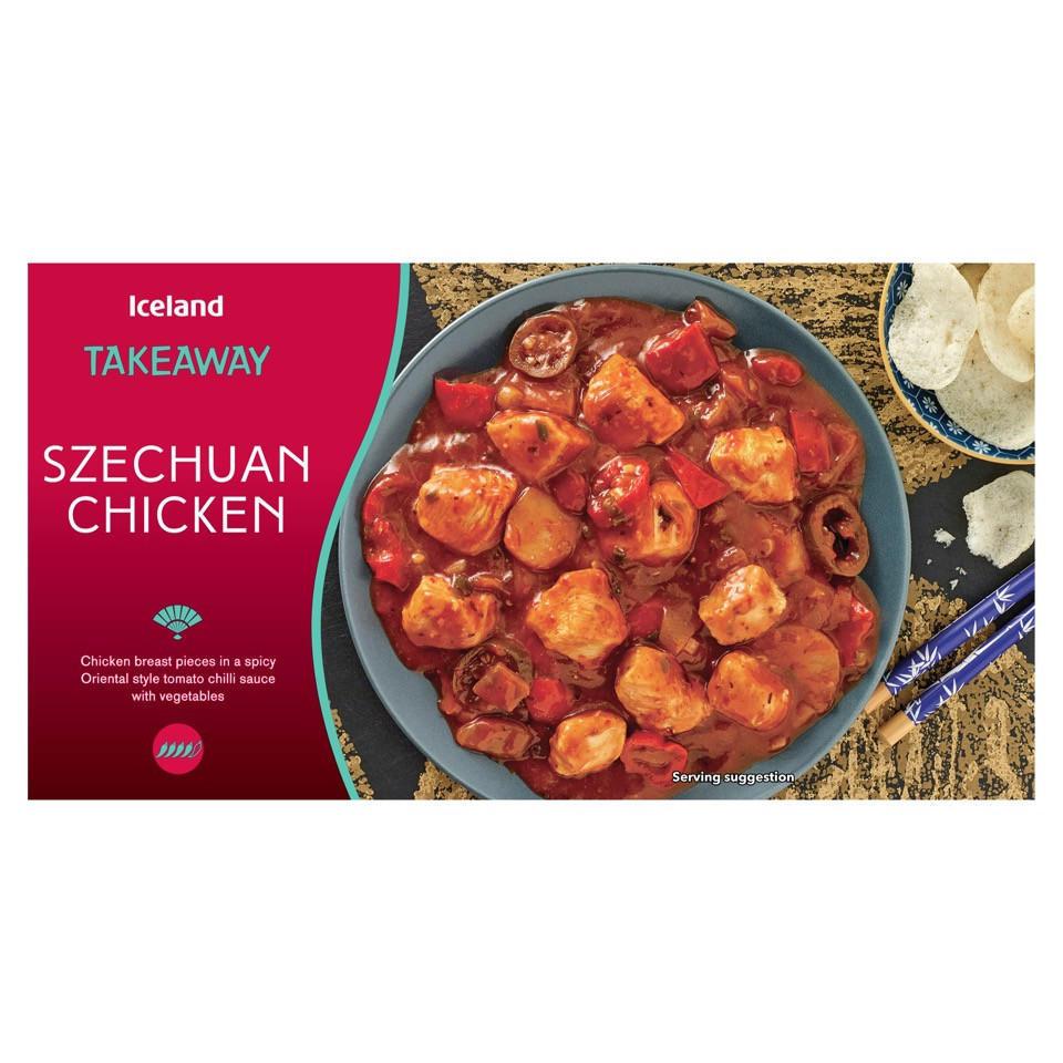 Iceland Takeaway Szechuan Chicken 375g