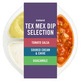 Iceland Tex Mex Dip Selection 210g