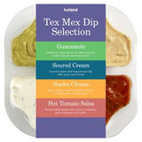 Iceland Tex Mex Dip Selection 400g