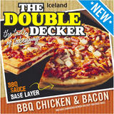 Iceland The Double Decker BBQ Chicken and Bacon 704g