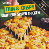 Iceland Thin & Crispy – Southern Spiced Chicken 336g