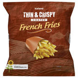 Iceland Thin & Crispy Coated French Fries 1.25Kg