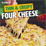 Iceland Thin & Crispy Four Cheese 300g