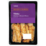 Iceland Tikka Chicken Breast Slices 100g