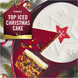 Iceland Top Iced Christmas Cake 907g