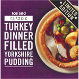Iceland Turkey Dinner Filled Yorkshire Pudding 395g