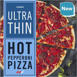 Iceland Ultra Thin Hot Pepperoni Pizza 300g