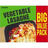 Iceland Vegetable Lasagne 500g