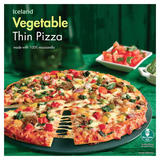 Iceland Vegetable Thin Pizza 329g