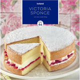 Iceland Victoria Sponge with Dairy Cream Filling 375g