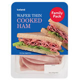 Iceland Wafer Thin Cooked Ham 400g