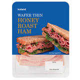 Iceland Wafer Thin Honey Roast Ham 160g
